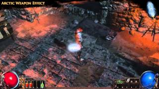 Path of Exile - Arctic Weapon Effect