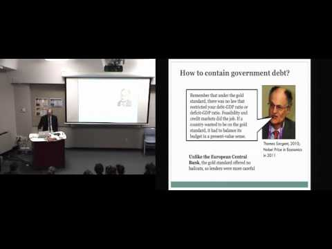 Financial Crises and Foreign Debt Crises: Professor Lawrence H. White