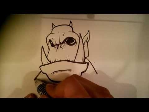 random-monster---easy-things-to-draw