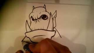 Random Monster - Easy THings to Draw