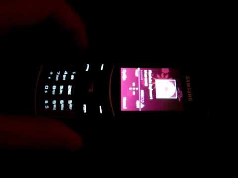 Samsung S5050 : mp3 player
