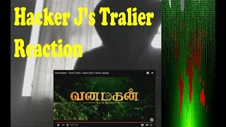 Vanamagan Trailer Reaction | Tamil | Jayam Ravi | Hacker J | TakeOut