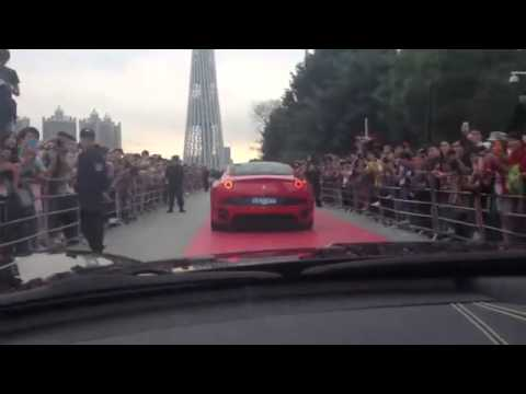 Ferrari Myth 法拉利中国广州巡演 in Guangzhou China 2012