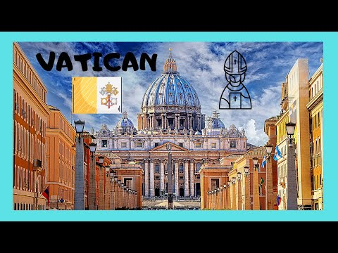 THE VATICAN, the magnificent ST PETER'S BASILICA, a complete tour