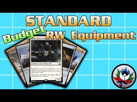 "MTG – R/W Equipment Allies ""Budget"" Standard Deck Tech for Magic: The Gathering!"