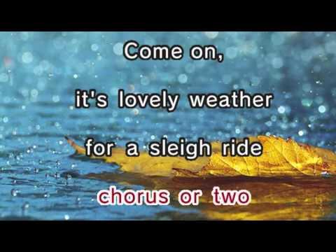 Christmas Carols - Sleigh Ride (Karaoke and Lyrics Version)
