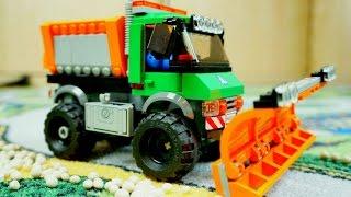 Машинки. Lego Снегоуборщик помогает водителям.(Наступила зима и дороги засыпало снегом. Как же водителям проехать по заснеженной дороге? На помощь водител..., 2015-11-02T06:48:17.000Z)