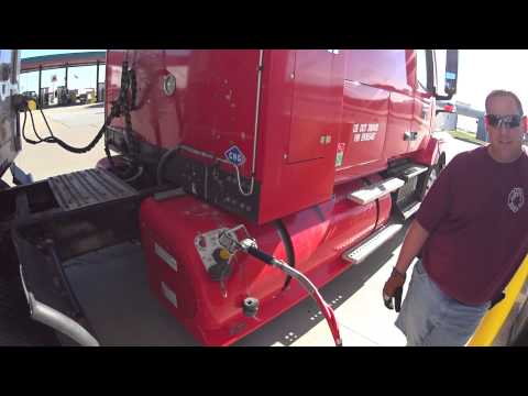 263 natural gas trucks