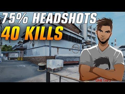 ScreaM 40 kills on Cache  75% Headshots ★ CS:GO