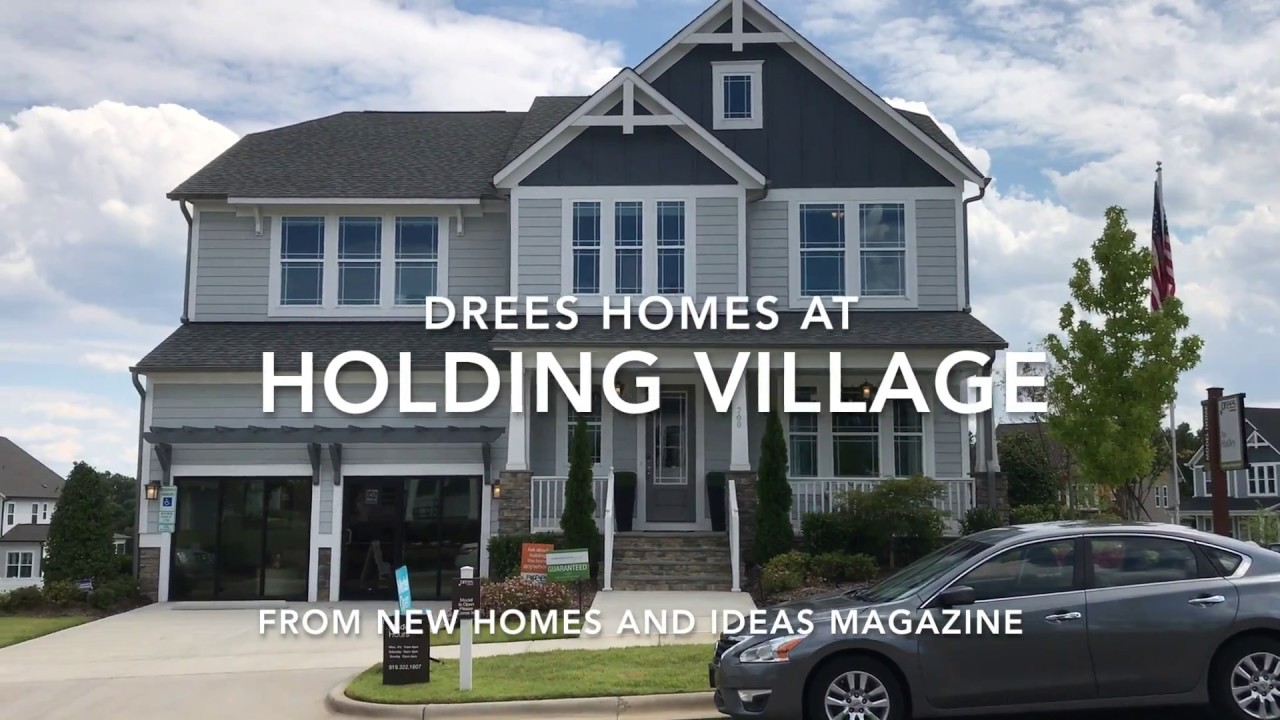 Lovely Triangle Home Front: Drees Homes At Holding Village Wake Forest, NC. New  Homes U0026 Ideas Magazine