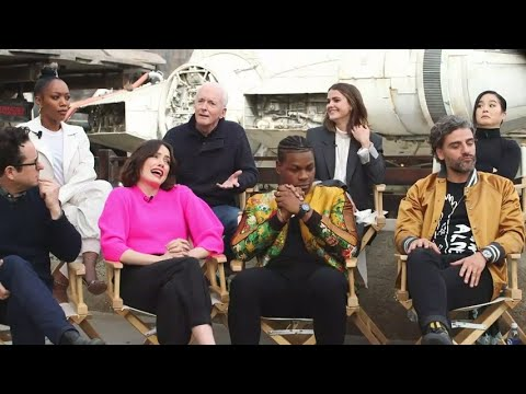 Star Wars Cast Reacts To The Rise Of Skywalker S Ending Youtube