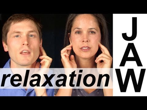 JAW RELAXATION EXERCISES (2 of 6)  -- Vocal Exercises -- American English
