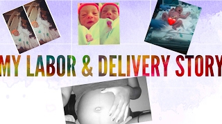 MY LABOR & DELIVERY STORY | W/ BJ | STORY TIME | Teen Mom