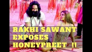 Rakhi sawant exposes honeypreet and ram rahim | sensational interview | social diva indian celebs