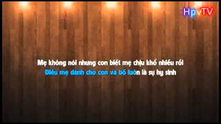 Karaoke HD me toi Karik Lyrics