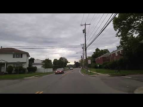 Driving from Roslyn to Garden City in Nassau,New York