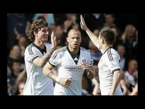 Fulham v Hull City April 2014 Premier League English