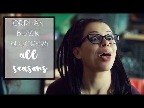 Orphan Black Bloopers || ALL SEASONS [HD]