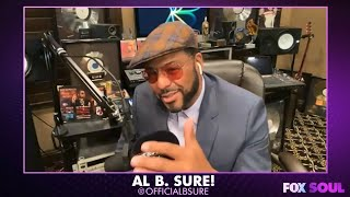 Al B. Sure! on 'Secret Garden' with Barry White, James Ingram, and more - The Mike & Donny Show