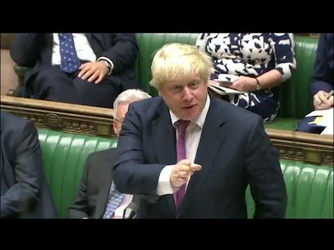 Boris Johnson attempts Italian