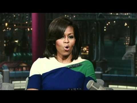 Michelle Obama on David Letterman Show: 'Don't make me cry. This isn't Oprah'