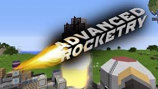 [Обзор][1.10.2] Advanced Rocketry - Мультиблоки и спутники (часть 1) - S5-EP17