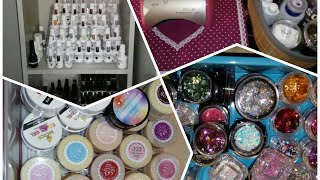 All of my nail stuff / julie,s nails