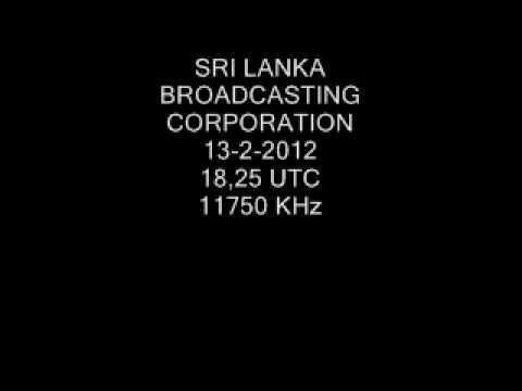 SRI LANKA BROADCASTING CORPORATION 11750 KHz