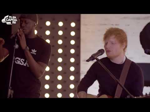 Ed Sheeran   'Shape Of You Remix' Ft Stormzy Capital Live Session