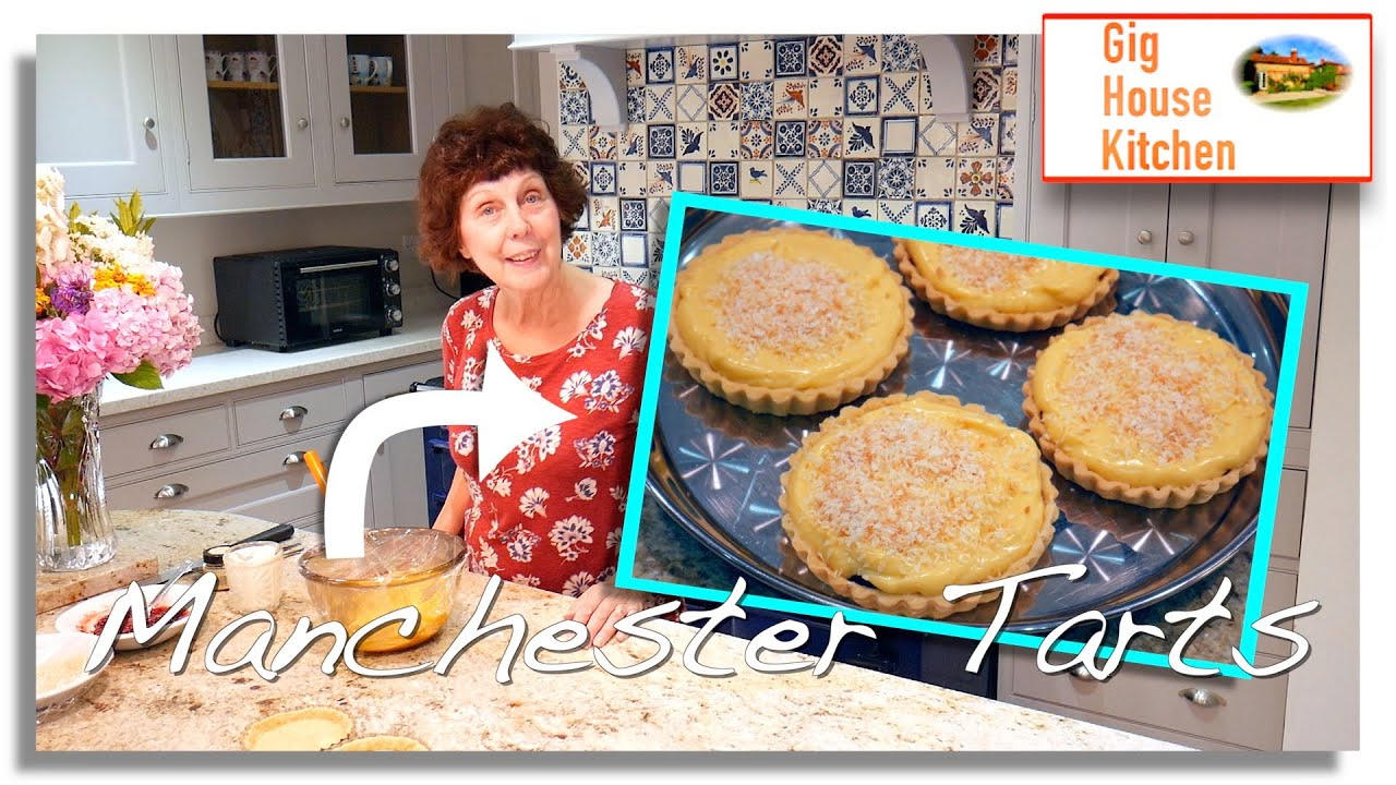 Let's Make... MANCHESTER TART | Store cupboard recipe | RETRO | Very Easy Dessert