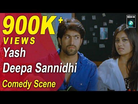 Jaanu Kannada Movie Comedy Scenes 9 | Yash, Deepa,Rangayana Raghu