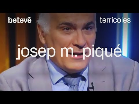 Terrícoles - Josep M. Piqué, pres. La Salle Technova Barcelona - betevé
