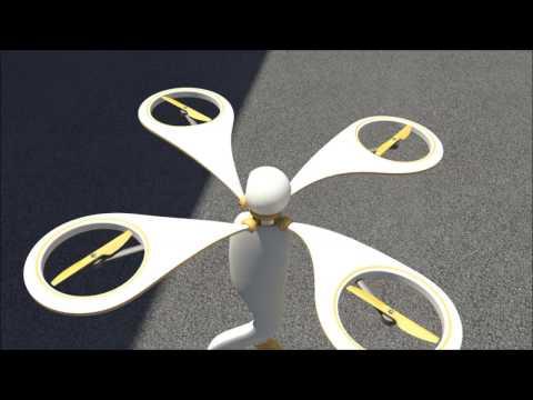 QUADRO (Quadcopter A.I. Drone Robot)