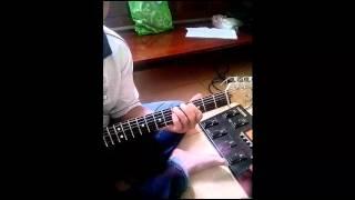 Guitar Intro Tâm hồn của đá ( Bức Tường )