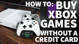 How to Buy Xbox One Games Without a Credit Card – Check Xbox Gift Card Balance on Xbox