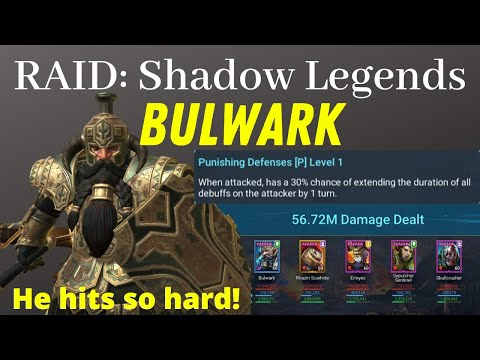 BULWARK! One of the BEST RARE and HARDEST HITTING Champion against Clan Boss [RAID: Shadow Legends]