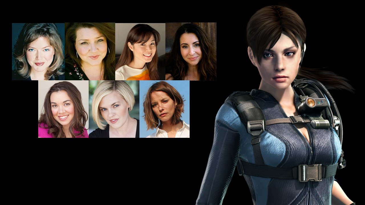 Comparing The Voices Jill Valentine YouTube