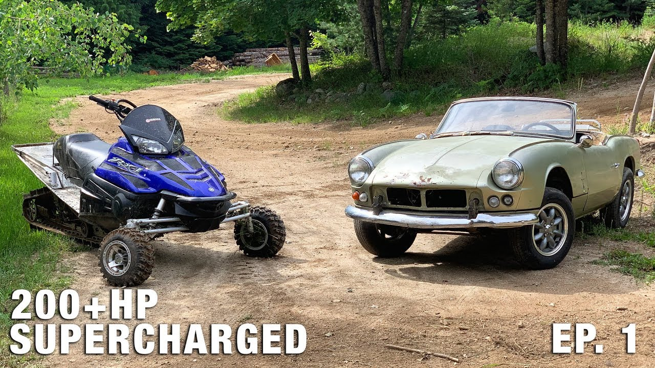 Building a Triumph Spitfire with a Supercharged Snowmobile Engine