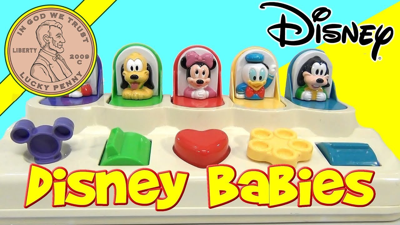 Mattel Disney Babies Poppin Pals Toy Mickey Mouse