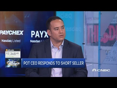 Pot CEO responds to infamous short seller