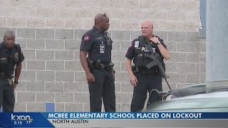 Assault preceded lockout at north Austin elementary school