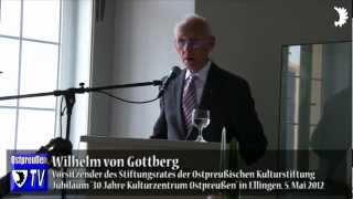 Wilhelm von Gottberg: Das ostpreußische Erbe für Deutschland und Europa sichern