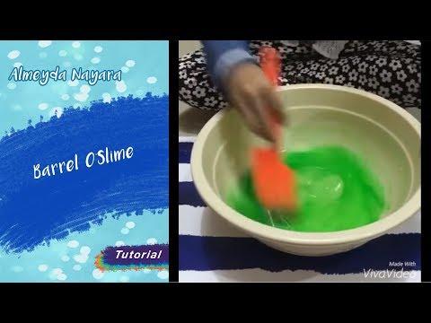 how to make barrel o slime with shampoo