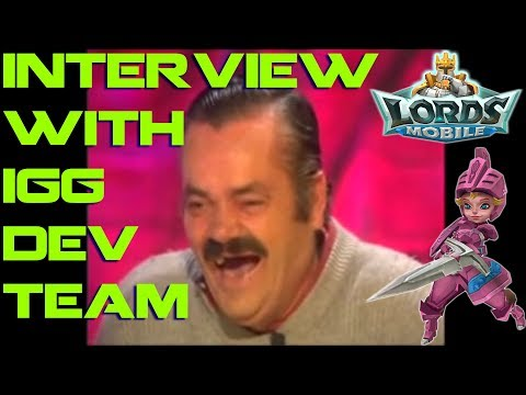 Interview With IGG  (MEME)  - Lords Mobile