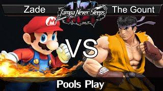 Zade (Mario) vs. The Gount (Ryu) - Pools Play - TNS 6