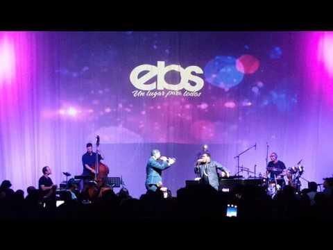 Juan Carlos Rodriguez y Ben-Hur cantando en vivo por 1ra vez En El Calvario en Miami 2015