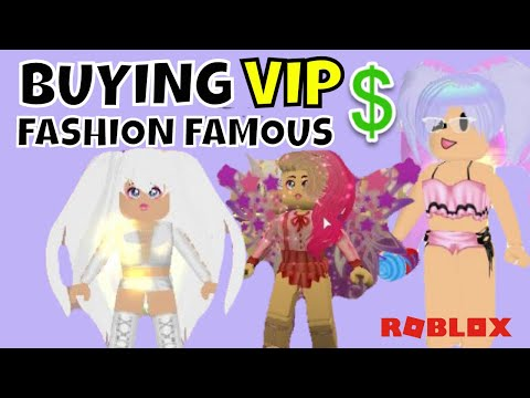 Buying Vip In Fashion Famous Roblox Youtube