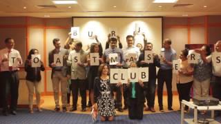 Burj Toastmasters Club Video 2017