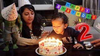 Beautiful Birthday Celebration & Cake Cutting Ceremony | 2nd Birthday