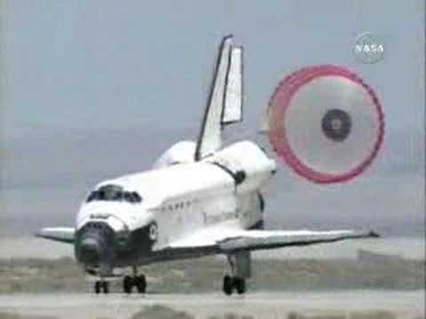 space shuttle landing from inside - photo #1